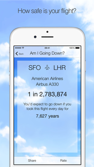 приложение, которое показывает когда упадет самолет