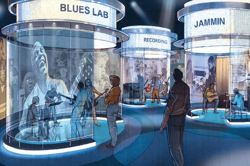 Новые достопримечательности: Музей Блюза в США