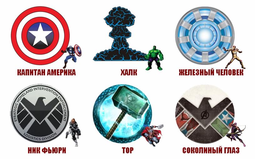 Персонажи Marvel