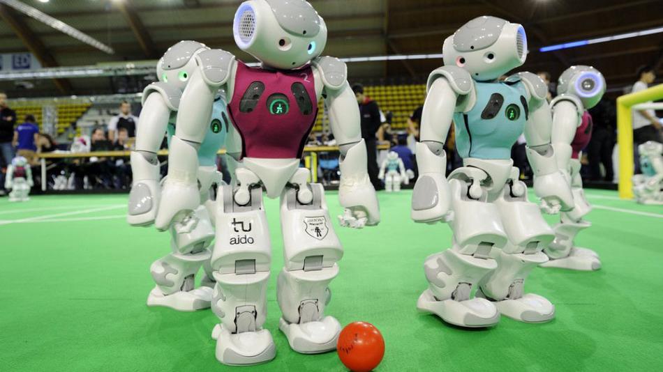Работа для робота: Профессиональный спортсмен