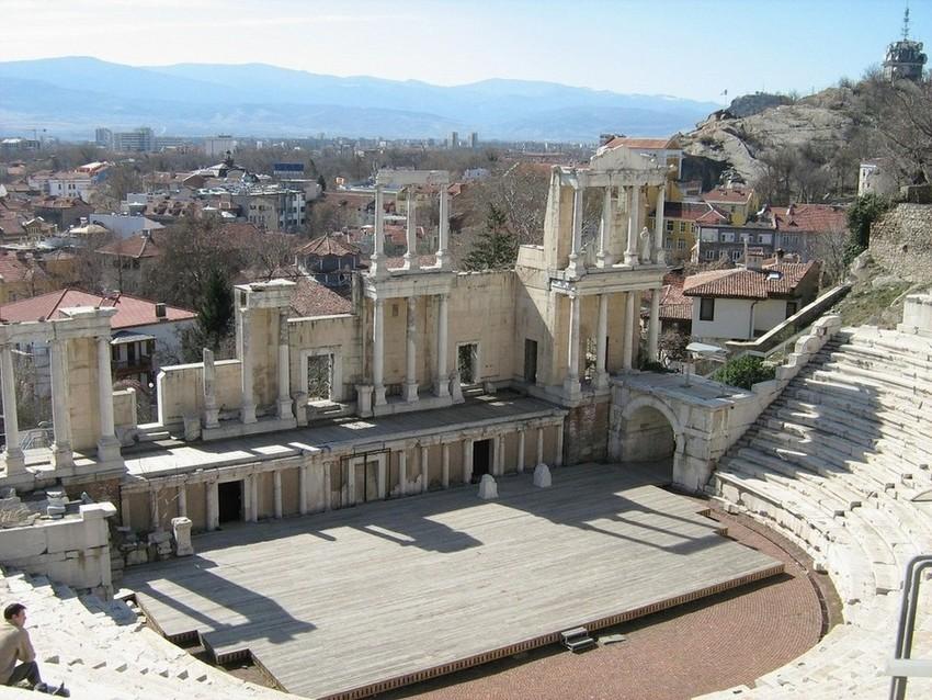 Самые древние города: Пловдив. Болгария