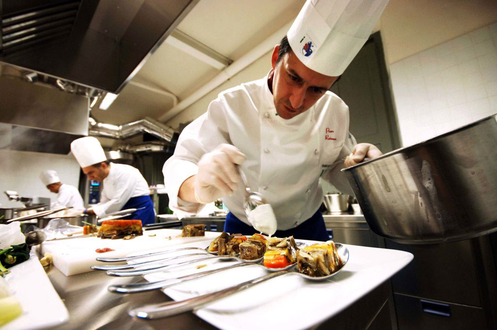 Вагон-ресторан «Italo» в Италии