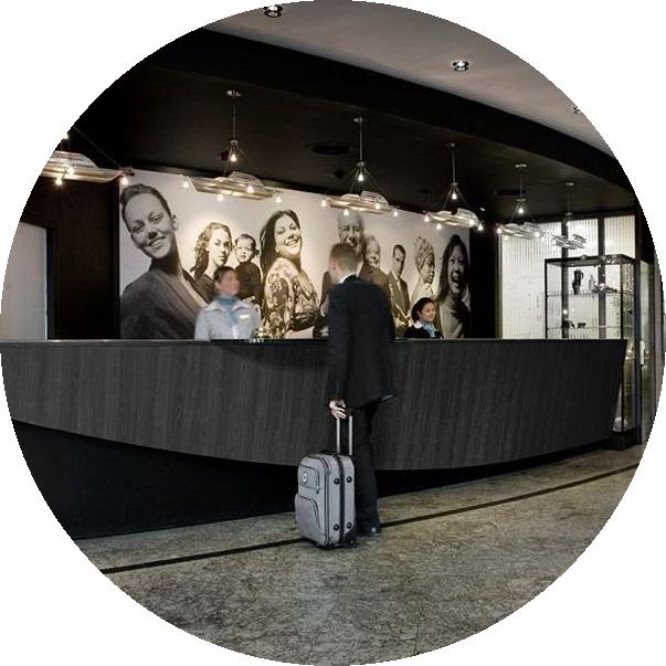 Самые красивые отели: Голландский Inntel Hotels Amsterdam Zaandam в Зандаме
