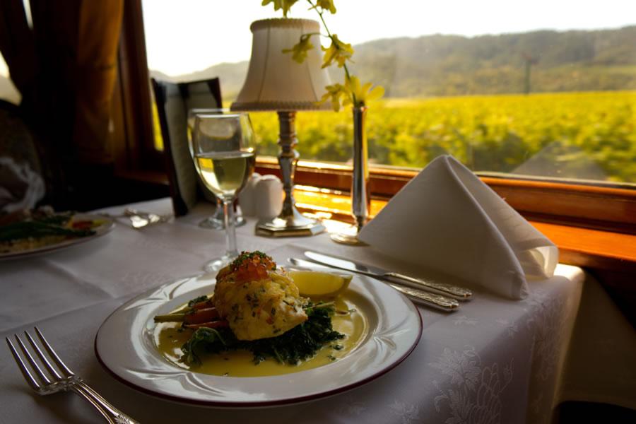 Вагон-ресторан «Napa Valley Wine» в США