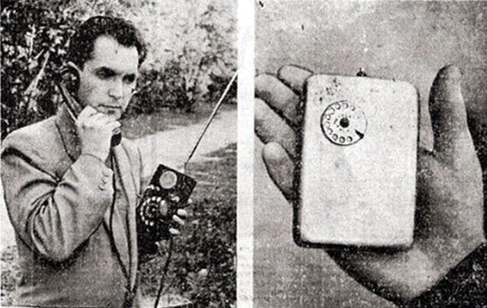 Советские мобильные телефоны Куприянова