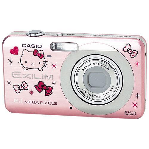 Стильный фотоаппарат Hello Kitty Casio