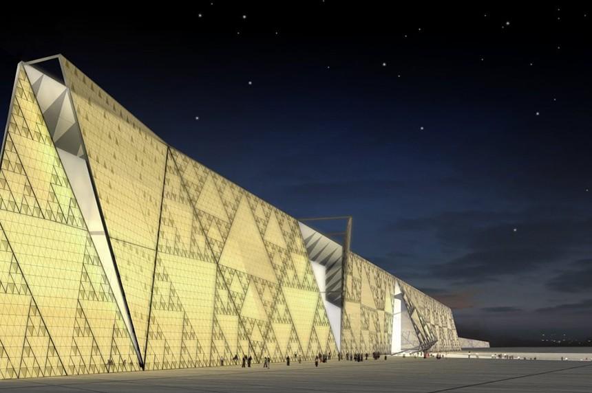 Новые достопримечательности: Археологический музей у пирамид