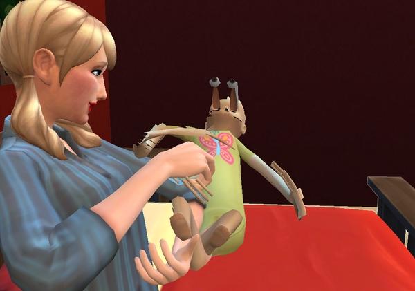 Реакции Sims