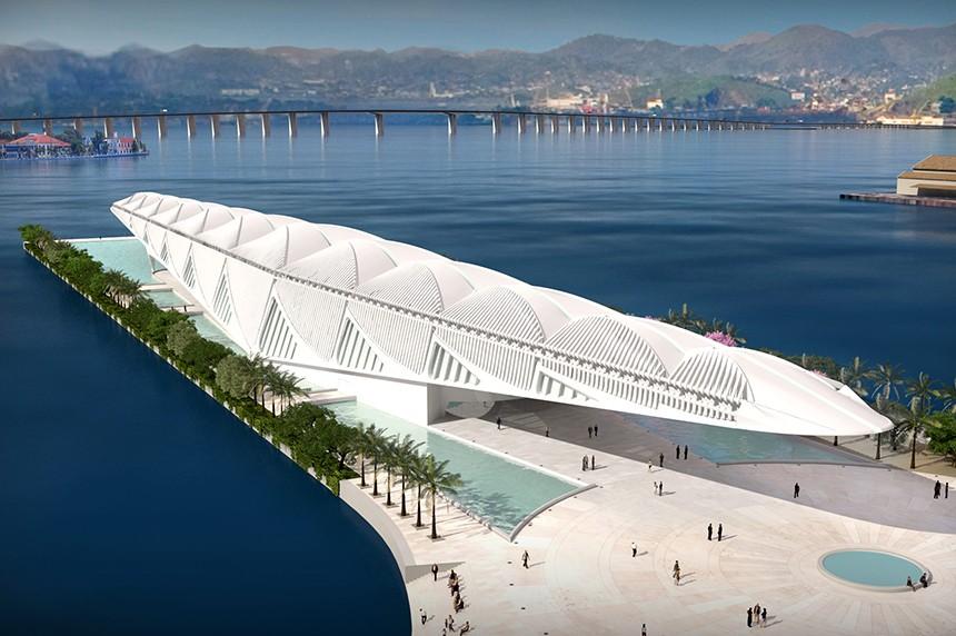 Новые достопримечательности: «Музей Завтра» в Рио