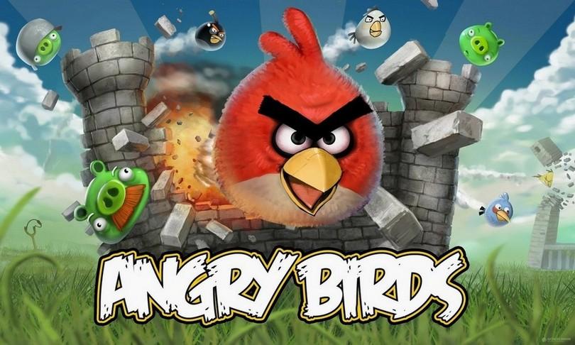 игра года на андроид - Angry Birds