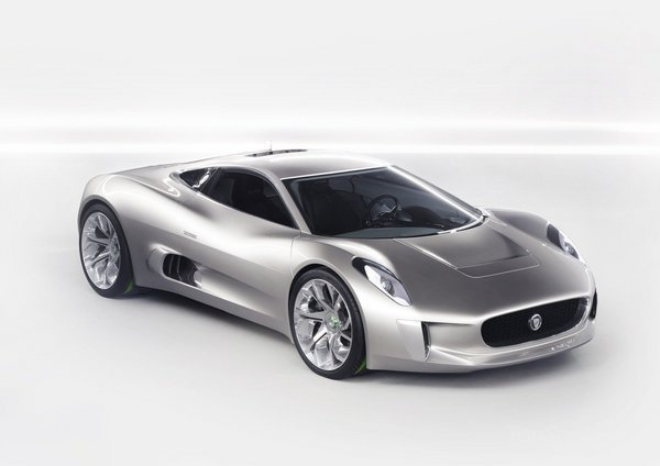 Концепт Jaguar CX75