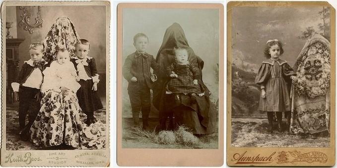 Старые фото с детьми