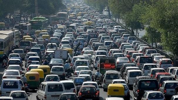 Каково общее число автомобилей в мире