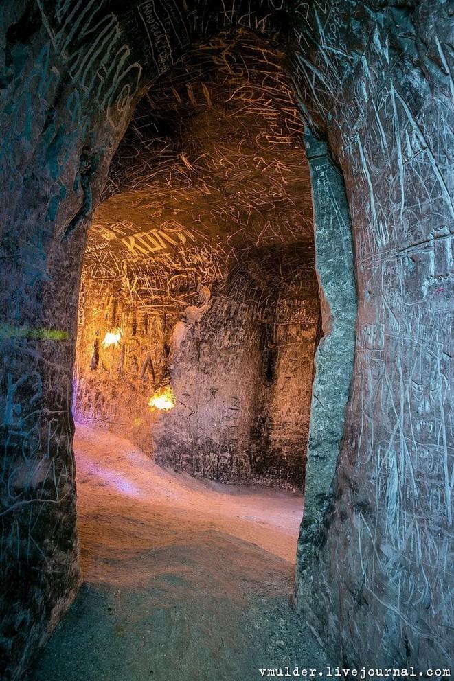 Калачаевские пещеры Воронежа