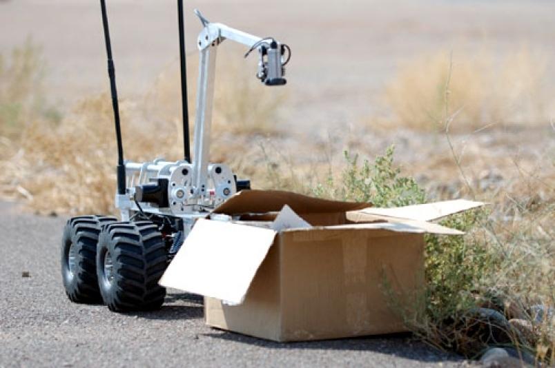 На что способны роботы-саперы