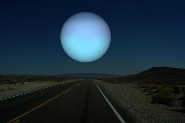 Голубое свечение Урана