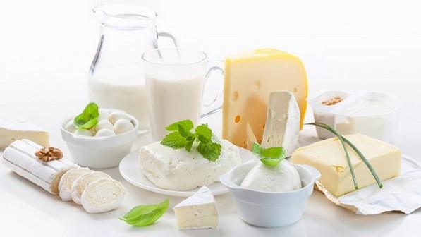 Молочные продукты на завтрак